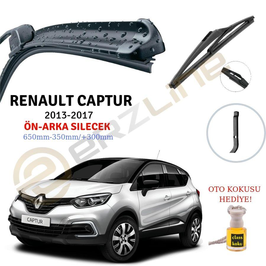 Erzline Renault Captur On Arka Silecek Seti 2013 2017 Classotoaksesuar