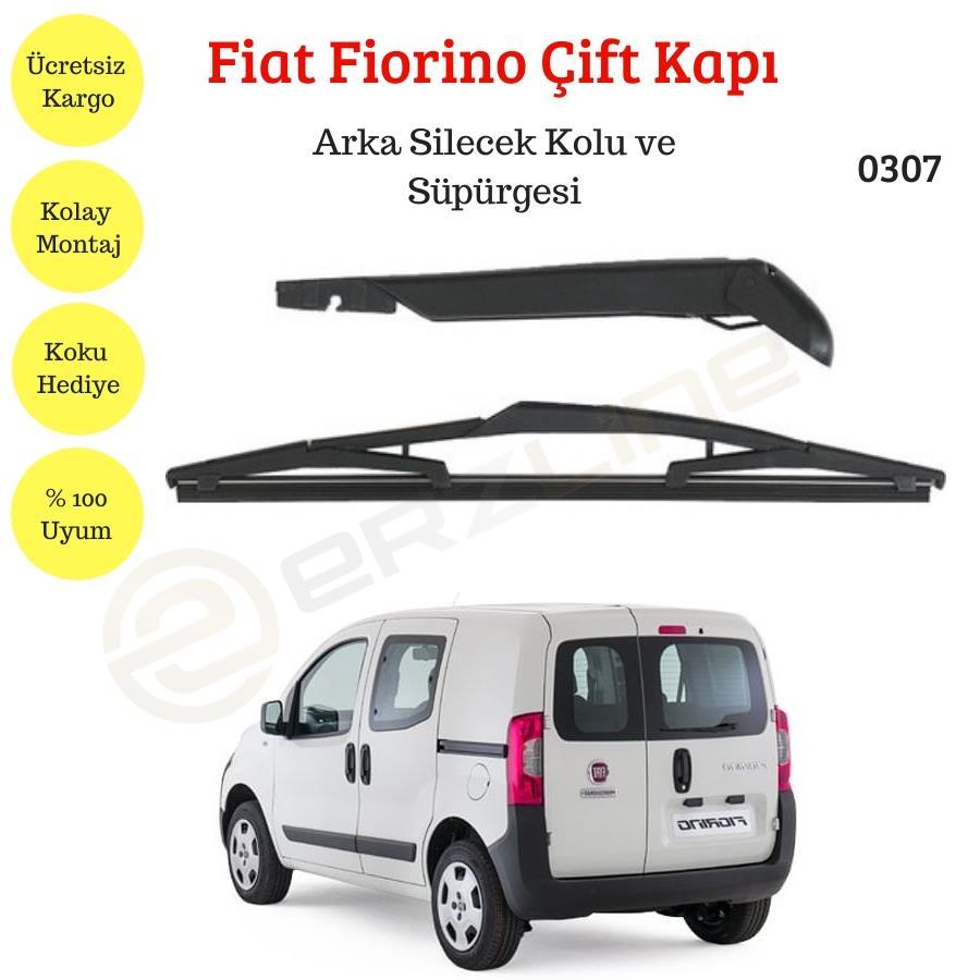 Fiat Fiorino Cift Kapi Arka Silecek Kolu Ve Supurgesi 0307 Classotoaksesuar