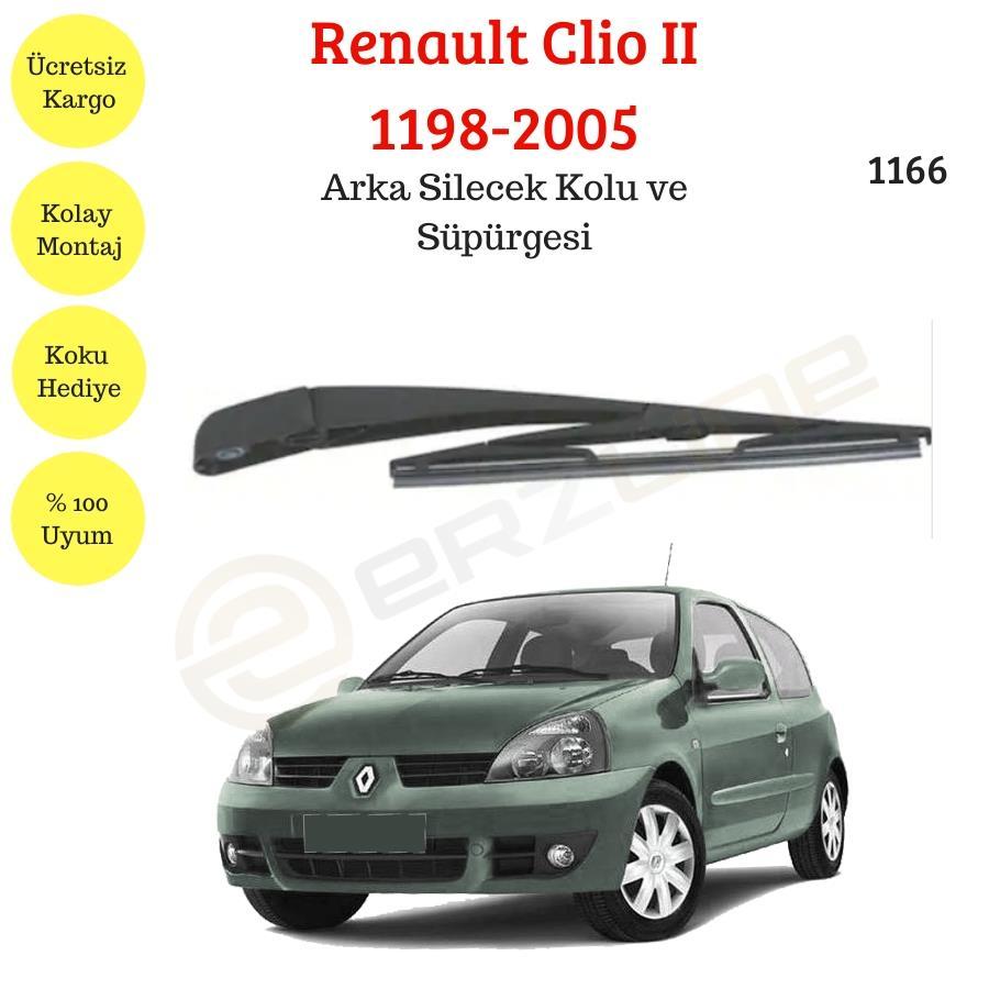 Renault Clio Ii Arka Silecek Kolu Ve Supurgesi 1998 2005 1166 Classotoaksesuar